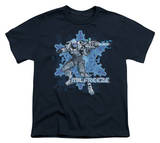 Youth: Batman-Mr Freeze Shirt