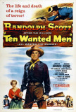 Ten Wanted Men Posters