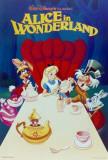 Alice i Eventyrland, på engelsk Plakat