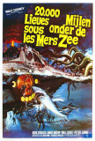20,000 Leagues Under the Sea - Belgian Style Posters
