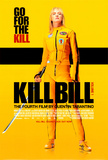 Filmposter Kill Bill Vol. 1, in Deense stijl Foto