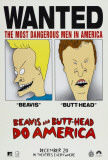 Beavis and Butthead Do America Posters