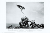 Iwo Jima-Flag Raising Photo