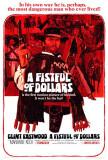 Bir Avuç Dolar İçin (A Fistful of Dollars) - Poster
