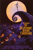 Nightmare Before Christmas Kunstdruck