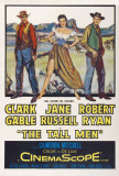 The Tall Men Affiches