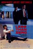 Less Than Zero Posters