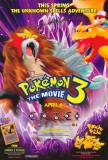Pokémon3: le Sort des Zarbi Affiches