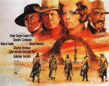 Once Upon a Time in the West - German Style Poster