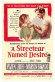 Vlak do stanice Touha / A Streetcar Named Desire, 1951 (filmový plakát vangličtině) Fotografie