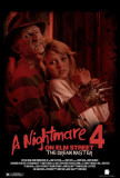 A Nightmare on Elm Street 4: Dream Master Plakater