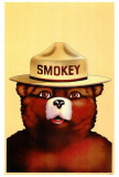 Smokey the Bear Plakáty