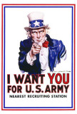 I Want You for U.S. Army Stampe