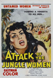 Attack of the Jungle Women Posters