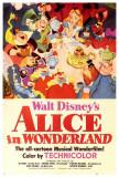 Alice i Eventyrland, på engelsk Plakater