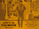 Taxi Driver, Englisch Poster