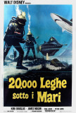 20,000 Leagues Under the Sea - Italian Style Prints