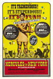 Hercules in New York Poster