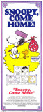 Snoopy Come Home Affiches