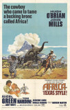 Africa - Texas Style Poster