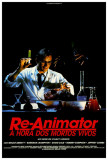 Re-Animator - Brazilian Style Poster