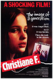 Christiane F Poster
