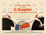 Dr. Strangelove Julisteet