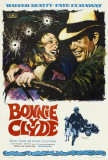 Bonnie and Clyde - Spanish Style Poster