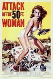 妖怪巨大女(1958年) ポスター