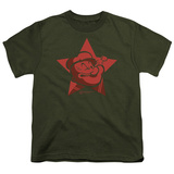 Youth: Popeye-Red Star T-shirts