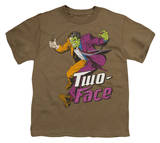 Youth: DC-Two Face T-shirts