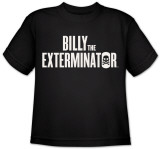 Youth: Billy The Exterminator-Logo T-shirts