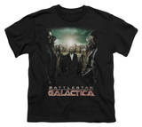Youth: Battle Star Galactica-Crossroads T-shirts
