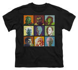 Youth: Star Trek-Alien Squares Shirts