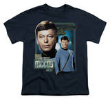 Youth: Star Trek-Doctor Mccoy T-Shirt