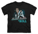 Youth: Elvis-Shake Rattle & Roll T-shirts