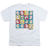 Youth: Popeye-Color Block T-Shirt