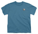 Youth: Star Trek-DS9 Science Emblem Shirt