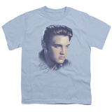 Youth: Elvis-Big Portrait T-shirts