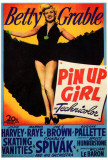 Pin Up Girl Print