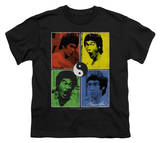 Youth: Bruce Lee-Enter Color Block T-Shirt