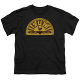 Youth: Sun Records-Traditional Logo T-shirts