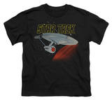 Youth: Star Trek-Retro Enterprise T-shirts