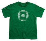 Youth: DC-Distressed Lantern Logo Shirt
