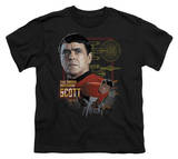 Youth: Star Trek-Chief Engineer Scott T-shirts
