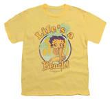 Youth: Betty Boop-Life's A Beach T-Shirt