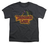 Youth: Dragon's Lair-Dragon Logo T-Shirt