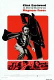 Dirty Harry går amok, på engelsk Posters