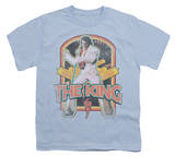 Youth: Elvis-Distressed King T-Shirt