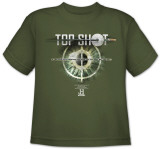 Youth: Top Shot-Eye Target Shirt